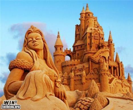 Sand Sculpture WIN | Win | Scoop.it