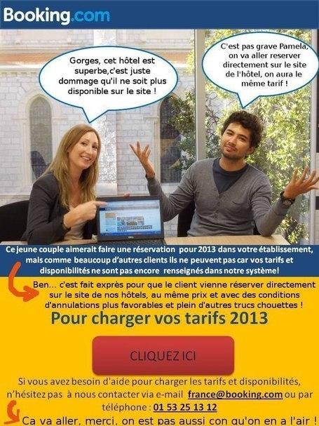 """Pourquoi Booking.com n'est pas votre """"ami"""" (du point de vue de l'hôtelier) sur etourisme.info   Infos pros btob & boites à outils de Paxs Conseil   Scoop.it"""