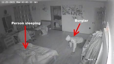 Video: Queens home invasion suspect creeps around bedroom while victim sleeps | Criminal Justice in America | Scoop.it