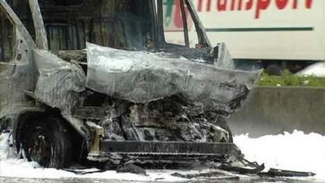 Zware hinder op Buitenring door brandende bestelwagen | Actua Daphne | Scoop.it