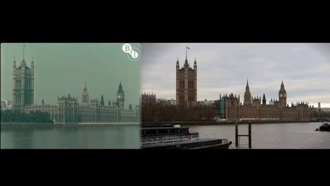 Filmmaker Replicates Rare 1927 Color Footage of London with ... | Collaborative Film Making | Scoop.it