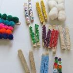 Making textured clothespins for preschoolers | Teach Preschool | Scoop.it