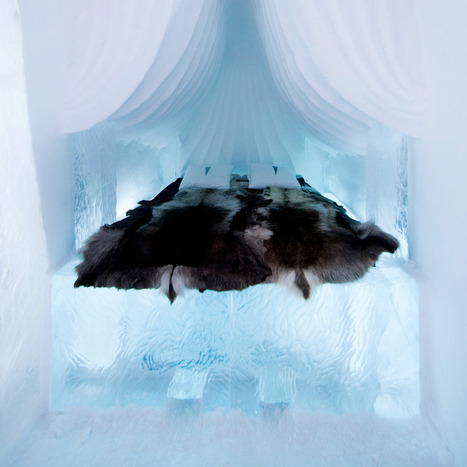 { Voyages } Un superbe hôtel de glace en Suède | DecoCrush blog déco, idées déco | Funny News | Scoop.it