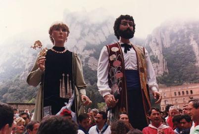 Els gegants de Catalunya, en Treball i la Cultura, fan vint-i-cinc anys - VilaWeb | Gegants, tradicions i escola | Scoop.it