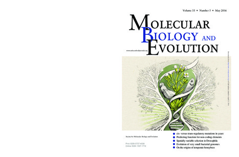 "New WSL publication now out on the cover of Molecular Biology & Evolution ""Postembryonic Hourglass Patterns Mark Ontogenetic Transitions in Plant Development""  