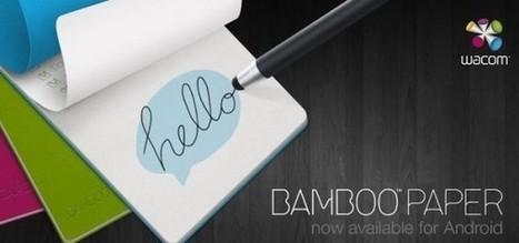 Bamboo Paper para Android, genial aplicación para crear notas | Recull diari | Scoop.it
