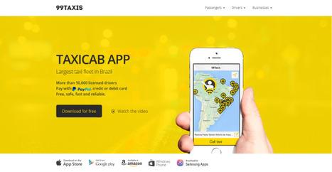 In Brazil, 99Taxis start-up jockeys to stay ahead of Uber   NYT DealBook   Digital BR   Scoop.it