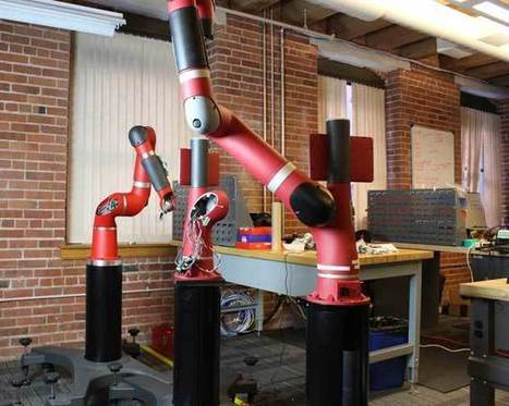Sawyer: Rethink Robotics Unveils New Robot - IEEE Spectrum | The Robot Times | Scoop.it