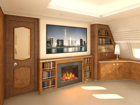 Thank God: There's Finally a 'Fireplace' for Private Jets | WIRED | Outbreaks of Futurity | Scoop.it
