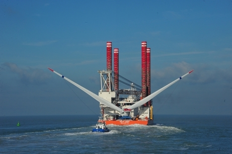 Belgium: Alstom Installs 6MW Haliade Offshore Wind Turbine >> Offshore Wind | Belgian offshore wind energy news | Scoop.it