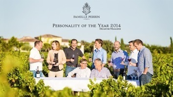 """Famille Perrin will be officially named """"Wine Personality of the Year 2014"""" 