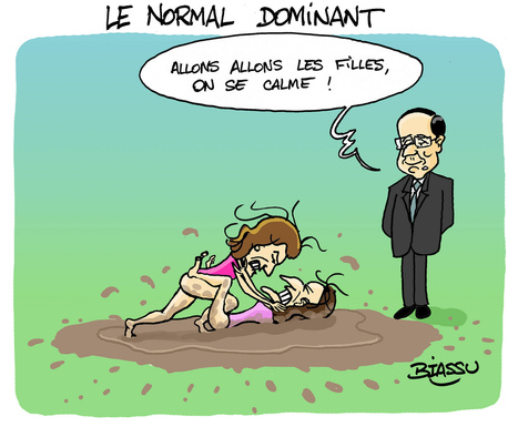 "Le dessin de Biassu : ""Hollande, le normal... dominant ! "" 