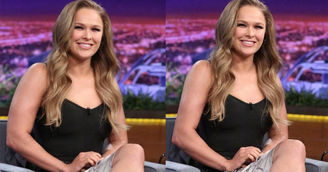 Ronda Rousey Apologizes for Photoshopped Arm in Instagram Picture | xposing world of Photography & Design | Scoop.it