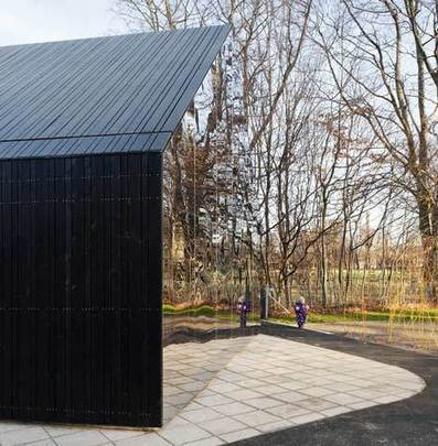 Mirror, Mirror: Playground Pavilion Gets Funhouse Treatment | green streets | Scoop.it