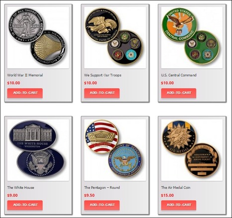 Firefighter Challenge Coins Order Now at Challengecoins101   Coast guard challenge coins   Scoop.it