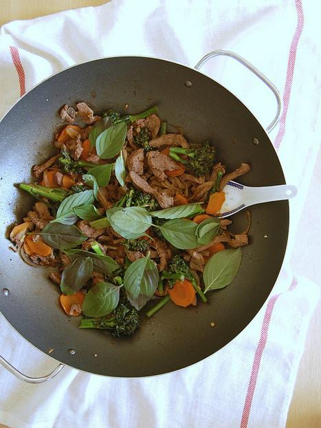 Technicolor Kitchen: Stir fry de carne e brócolis para um marido sem trauma | À Catanada na Cozinha Magazine | Scoop.it