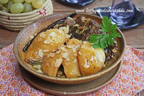 Tajine d'agneau aux coings | Les recette de les joyaux de sherazade | Scoop.it