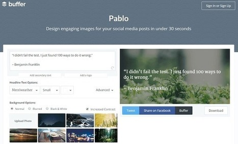 Pablo – UKEdChat.com | Education Technology - theory & practice | Scoop.it