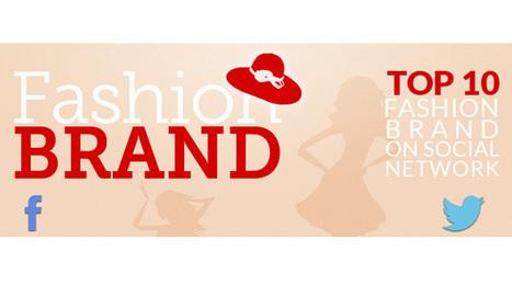 Ecco quali sono i Fashion Brands più social del web [Infografica] | Sara Verterano | Scoop.it