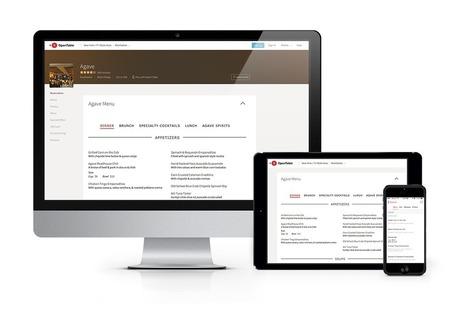 How OpenTable Is Connecting Hungry Diners & Restaurants with SinglePlatform Menus | SocialMediaRestaurants.com | Scoop.it
