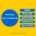 Networking: The Devils In The Follow-up | Promote Your Passion | Scoop.it