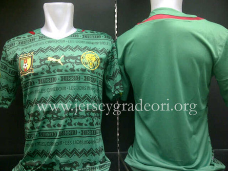 Jersey Bola Kamerun Home Piala Dunia 2014   jual jersey piala dunia   Scoop.it