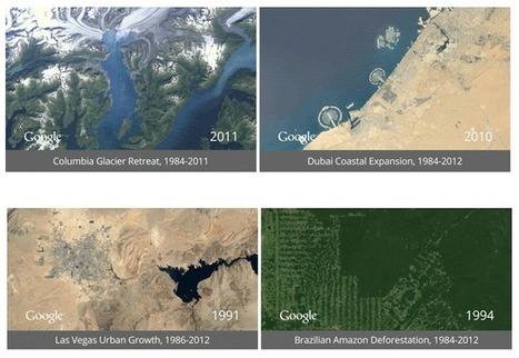 El nuevo timelapse de Google nos permite ver cómo era la tierra hace 30 años | Era del conocimiento | Scoop.it
