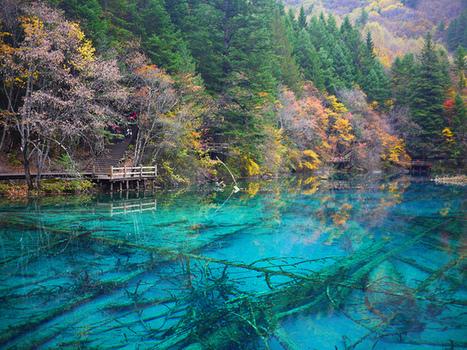 El valle de los lagos en turquesa en China | Viaja Maja! | Scoop.it