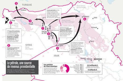 'Le trafic de pétrole de l'EI vers la Turquie se poursuit par de nouvelles routes'   Ressources pour le cours de Géographie   Scoop.it