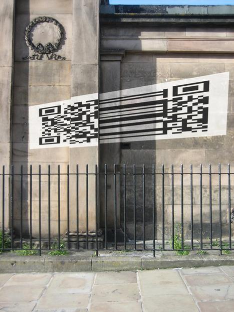 Artist Scott Spencer Creates Public Poetry With QR Codes | The Creators Project | QRart | Scoop.it