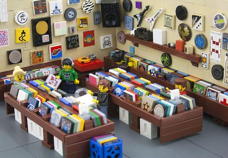 LEGO Record Store | Du vinyle au disquaire indépendant | Scoop.it
