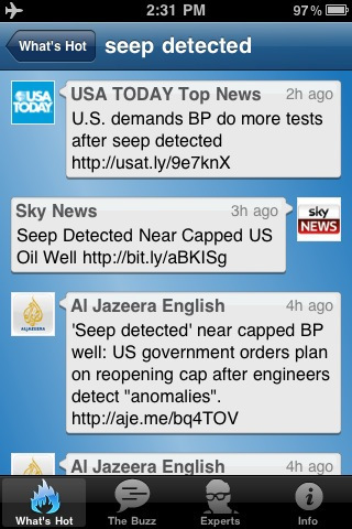 Live Journalists: Breaking Now iPhone App | Mobile Journalism Apps | Scoop.it