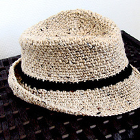 Fedora Hat Free Crochet Patterns - Free Craft Lessons | Mental Health | Scoop.it