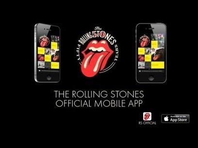 Rolling Stones Launch iOS App – Still No Beatles in Spotify | Evolver.fm | Social Smartware | Scoop.it