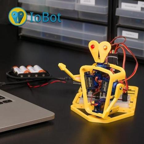 Make IoBot, a smartphone controlled 3D printable Arduino based robot - 3ders.org (blog)   Raspberry Pi   Scoop.it
