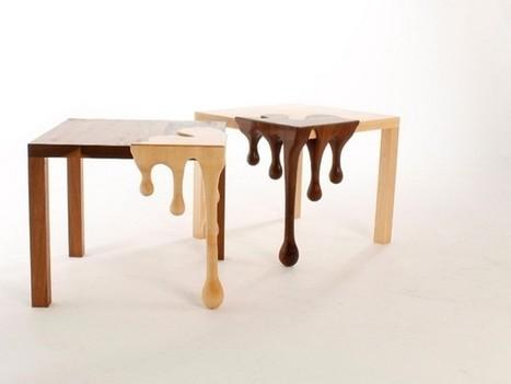 Chocolate art furniture-2 Fusion Tables | Architettura, design, arredamento: le case più belle - LIVING INSIDE | Scoop.it