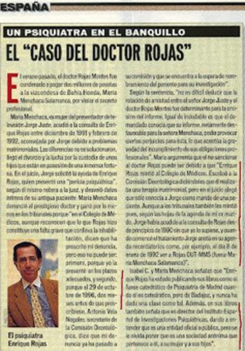 Enrique Rojas. Psiquiatra ¿?. Mentiras, Chanchullos y Pruebas: El ... | Partido Popular, una visión crítica | Scoop.it