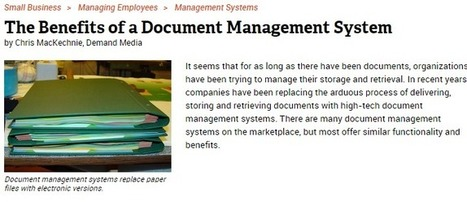 Document Management Services Save Time, Money and the Environment | Spectrum Information | Scoop.it