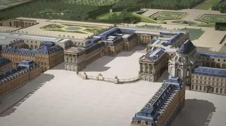 Incrível: vídeo em animação mostra a história da construção de Versalhes, o palácio mais luxuoso da Europa! | History 2[+or less 3].0 | Scoop.it
