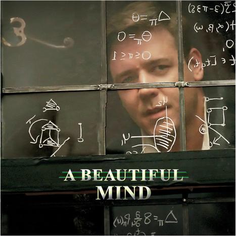 a-beautiful-mind-2001.jpg (1394x1394 pixels) | A Beautiful Mind-Mathematics and Schizophrenia | Scoop.it