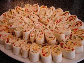 Tortilla Pinwheel Appetizers – Pinterest Food | Pinpopular | Scoop.it