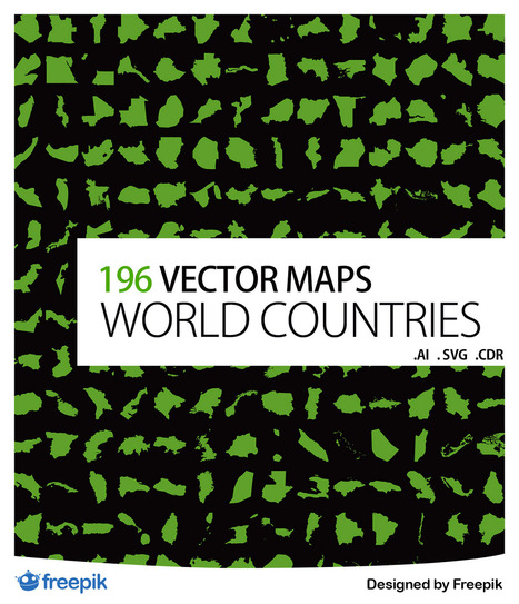 Countries of the World Icon Pack | SpyreStudios | Illustrator ressources | Scoop.it