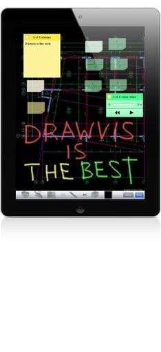 Drawvis - Aplicación para iPhone o iPod touch que visualiza planos de AutoCAD (DXF) | Creatividad en la Escuela | Scoop.it