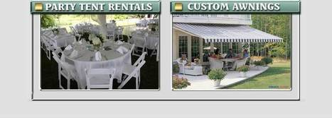 Jamestown Awning and Tents | Time To Party | Scoop.it