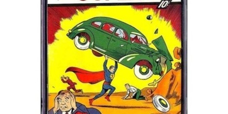 Great Krypton! Superman Comic Sells For $3.2 Million | Xposed | Scoop.it