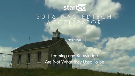 StartEd and NYU Steinhardt Launch NY EdTech Accelerator and Incubator | EdTechReview | Scoop.it