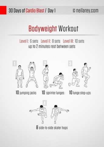 A Cardio Routine You Can Do Anywhere -- No Running Required | Contentmania | Scoop.it