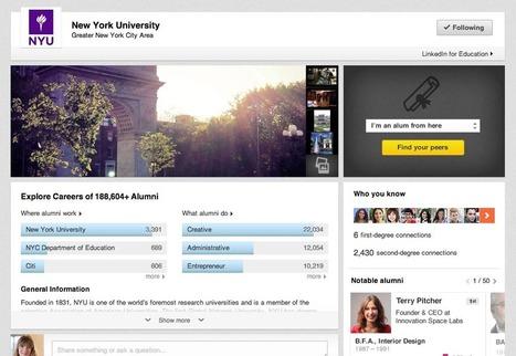 LinkedIn's New University Pages Help Teens Network Before College   Employer branding   Scoop.it