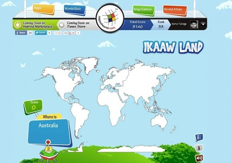 IKAAW LAND Online Map Game | Developing Spatial Literacy | Scoop.it