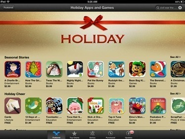 Holiday Apps & Games Featured in iPad App Store   iPad Insight   iPads, MakerEd and More  in Education   Scoop.it